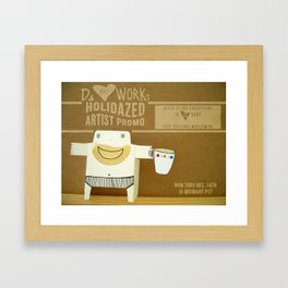 Ds Holidaze Framed Art Print