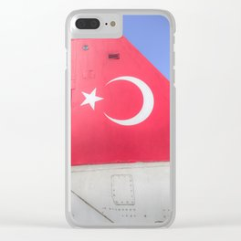 Turkish Air Force Logo Clear iPhone Case