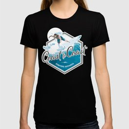 Surfing Coast to Coast T-shirt