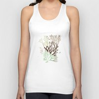 under the sea Tank Tops featuring Under the Sea - Abstract by Paula Belle Flores