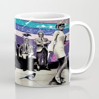 cage Mugs featuring Cage by Cs025