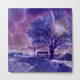 Winter Impression B Metal Print