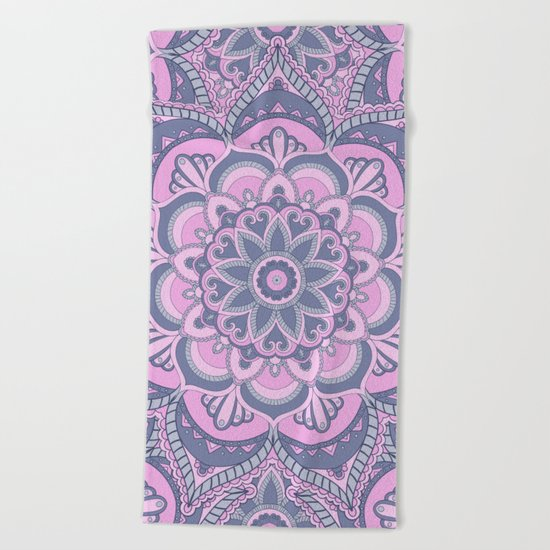 Mandala 5 Beach Towel