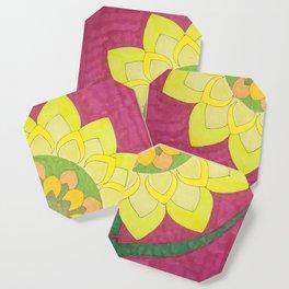 Flower of My Sun Coaster