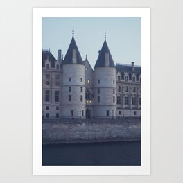 An evening in Paris (1) Art Print