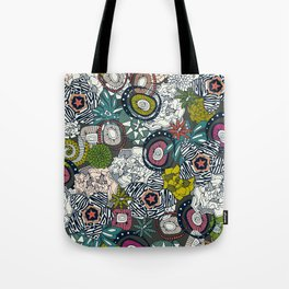 succulents multi dark Tote Bag