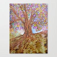Prosperity Tree Canvas Print