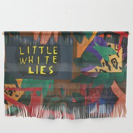 Little White Lies Wall Hanging