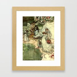 """""""Titania"""" by Arthur Rackham From Shakespeare Framed Art Print"""