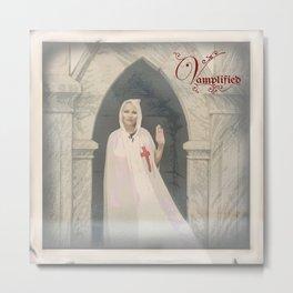 """VAMPLIFIED """"Sanguinary Templar"""" Metal Print"""