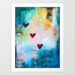 Love Always... Art Print