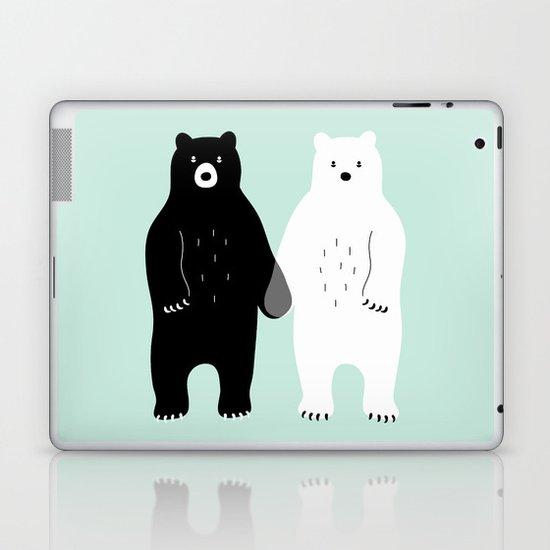 Gray Laptop & iPad Skin