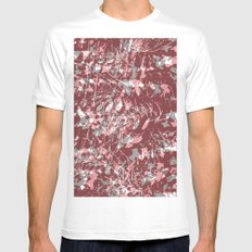 Garden White Mens Fitted Tee SMALL