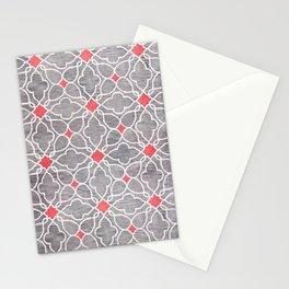 Moroccan Carpet Design  Stationery Cards