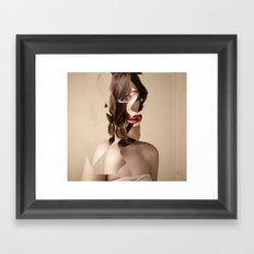 Another Portrait Disaster · W3 Framed Art Print