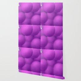 Floating Allium Flowers Wallpaper