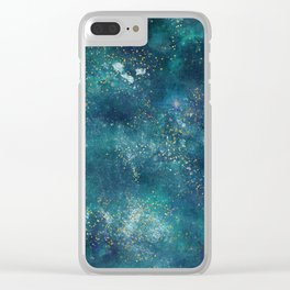 Exploring the Universe 13 Clear iPhone Case