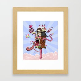 The Candy Shoppe Framed Art Print