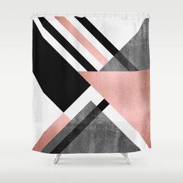 Foldings 2 Shower Curtain