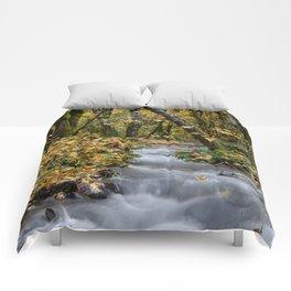 Tillamook In The Fall Comforters