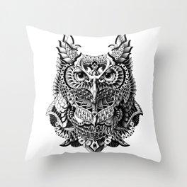 Century Owl Throw Pillow