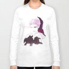 Ethno fashion illustration Long Sleeve T-shirt
