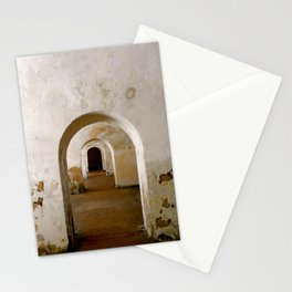 Through the corridor Stationery Cards