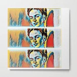 Frida Khalo 3.0 Metal Print