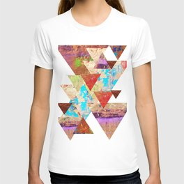 More than gold triangles T-shirt