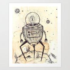 Big Bot Art Print
