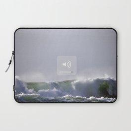 SOUND WAVES Laptop Sleeve