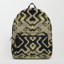 Tribal Gold Glam Backpack
