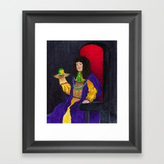 King Charles the Ventriloquist  Framed Art Print