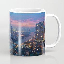 Foggy city night Coffee Mug