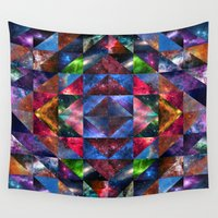 quilt Wall Tapestries featuring Space Quilt by deff