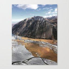 New Zealand's beauty *Aoraki/MtCook 7 Canvas Print