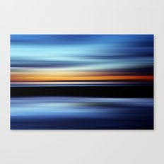 Seaside Abstract Canvas Print