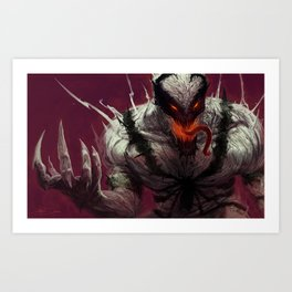 Anti-Venom Art Print