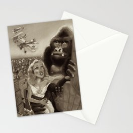 KING KONG 1933. Black & White Stationery Cards