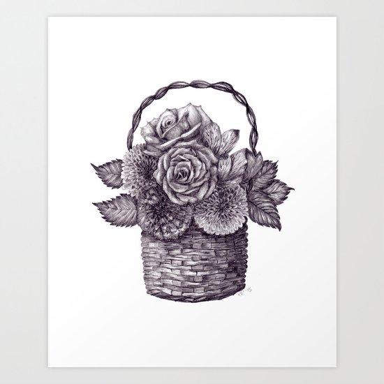 Flower Basket by katealli