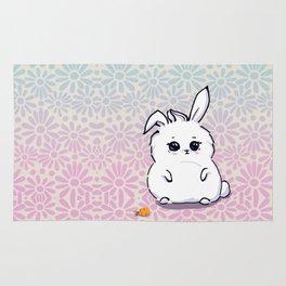 little fat bunny Rug