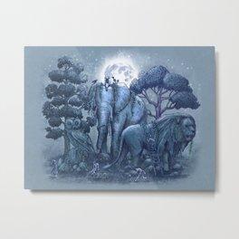 Stone Garden Metal Print