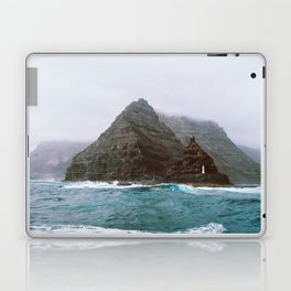 Island between Lanzarote and Isla Graciosa, Spain. Laptop & iPad Skin
