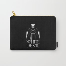 White Devil Carry-All Pouch