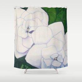 Gardenias for Mom Shower Curtain