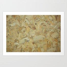 wood background texture Art Print
