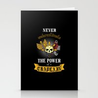 warhammer Stationery Cards featuring Chaplain, Warhammer 40K by ZsaMo Design