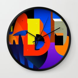 Levíntiox city Wall Clock