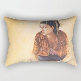 Transit by Jacques Lajeunesse Rectangular Pillow