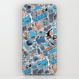 Gross Pattern iPhone Skin